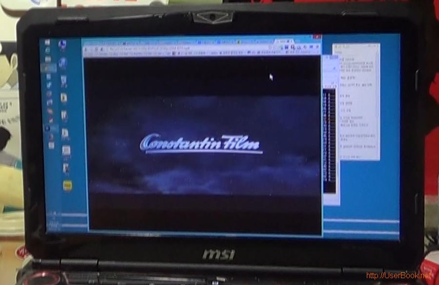 크롬브라우저에서 재생되는 mp4 동영상