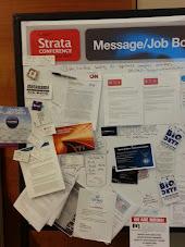 Strata 2013 job board