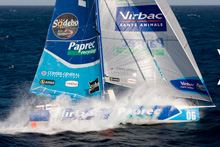 Open 60 Virbac-Paprec with J/24 sailor Jean-Pierre Dick