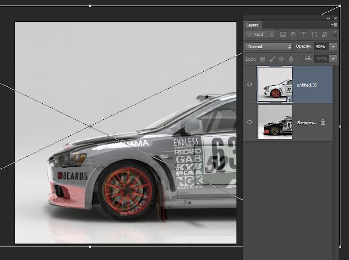 การเพิ่มลายรถใหม่ลงไปใน DiRT 3 และการทำภาพ Tiles ของรถ Newcar49