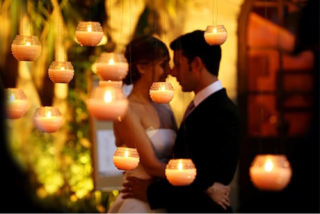 Bodas cucas decoraci n con velas para tu boda - Decoracion con velas ...