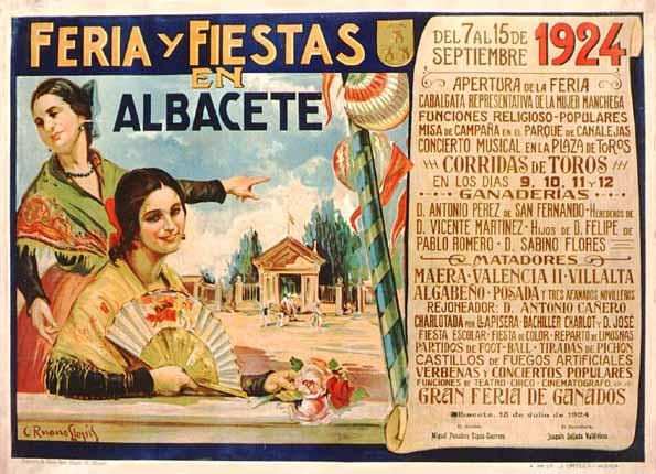 Cartel Feria Albacete 1924