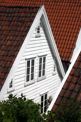 Rooftops in Stavanger Norway