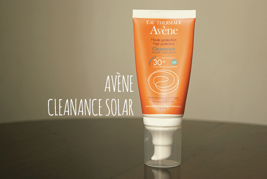 Avène Cleanance Solar
