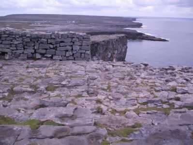 Dun Aengus Fort, Inishmore, Aran Islands, Irland