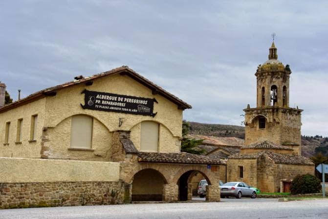 Albergue de peregrinos de los Padres Reparadores de Puente la Reina, Navarra, Camino de Santiago