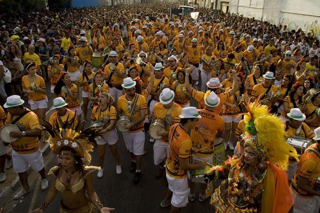 Pre-Carnaval en Fortaleza.