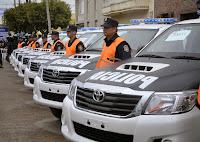 Nuevamente en el fin de semana comprendido entre el viernes 12 y el domingo 14 de diciembre, se puso  en marcha un operativo coordinado de vigilancia entre el Comando de Patrullas