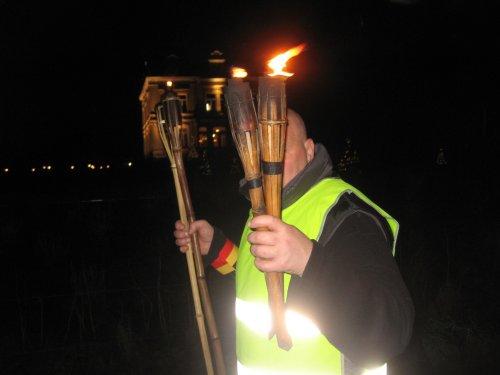 Danny zorgt voor het licht aan het einde van de stoet.