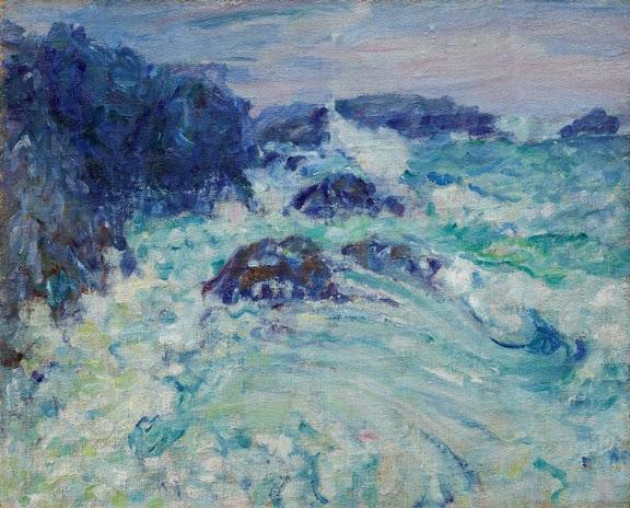 John Peter Russell - Rough sea, Morestil