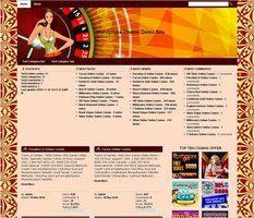 Online Casino Template 917