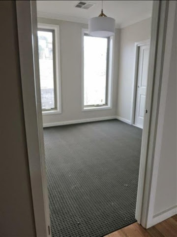 flinders green carpet taupe