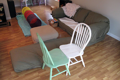 Engage In Indoor Obstacle Course | Things To Do At Home During Winter For A Cozy Homestead