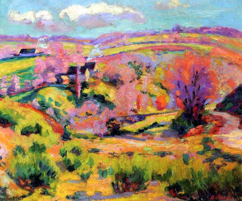 Armand Guillaumin - The Valley of Creuse