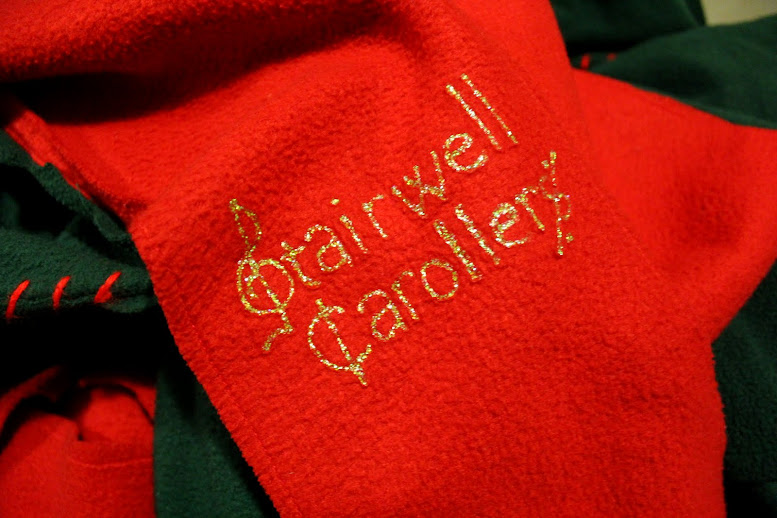 Stairwell Carollers scarf