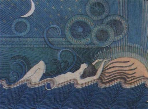 Goddess Ilmatar Image