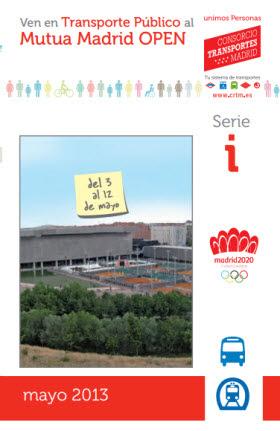 Metro y autobús para ir a la Caja Mágica al Mutua Madrid Open 2013