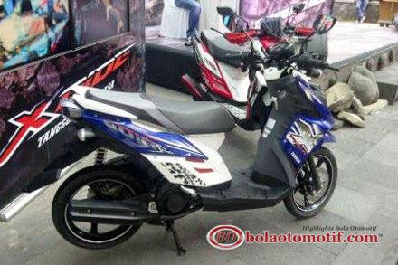 Motor Skuter Matic Yamaha X-Ride Offroad 2013