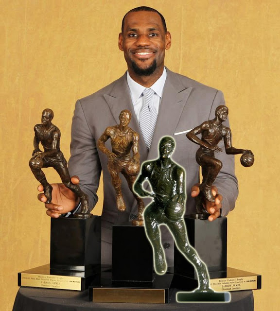 LeBron James Joins Elite Company Wins 4th NBA MVP Award