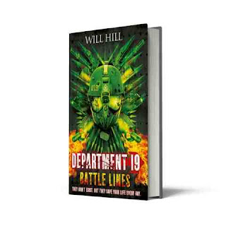 Will Hill Department 19 Battle Lines Book Cover Competition