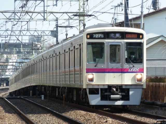 京王電鉄 準特急 北野行き1 7000系LED