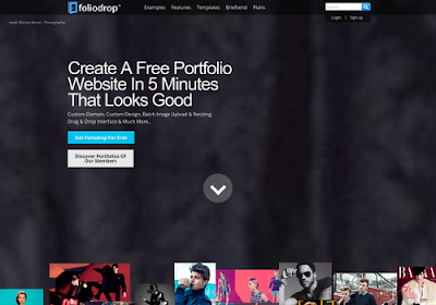 foliodrop.com free online website builders