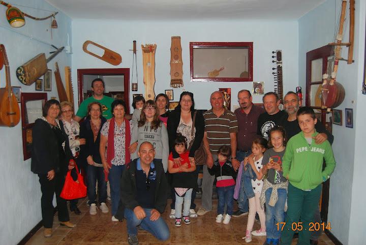Foto del grupo de acudió a la excursión