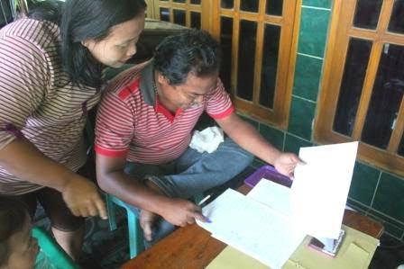 Berita Foto Sinar Ngawi Hari ini Mengenai Jejak Pendapat Alih Status Desa Beran Menjadi Kelurahan