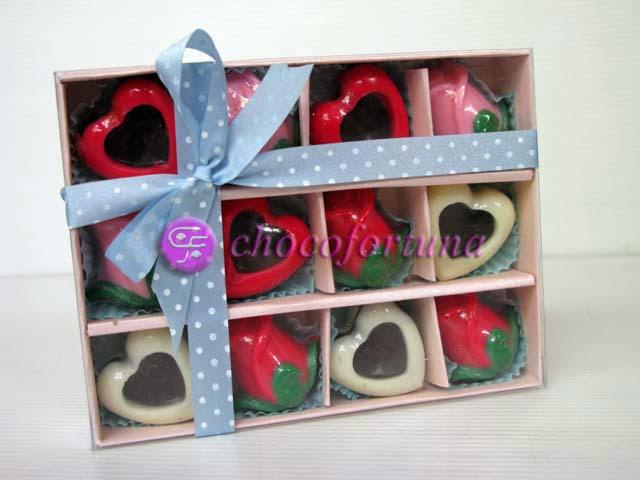 Cokelat Love Mawar