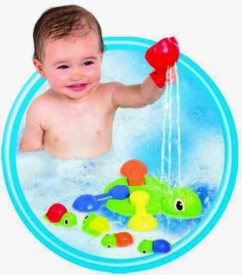 Turtle Tots Bath Time Fun cho khoảng thời gian tắm của bé có thêm sảng khoái