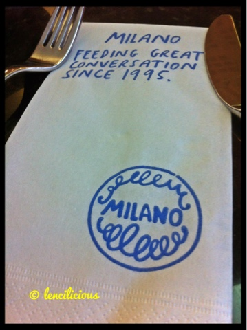Milano Restaurant: Feels like your in Italy