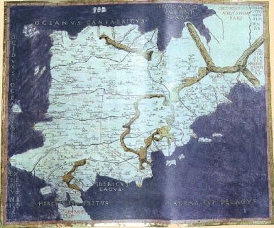 Mapamundi, Ptolomeo, Insulae Deorum, Islas Cies, Острова Сиес, Galicia, Галисия, туризм, отдых, CostablancaVIP