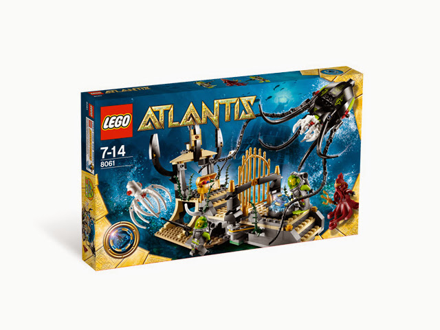 8061 レゴ アトランティス 巨大イカのゲート