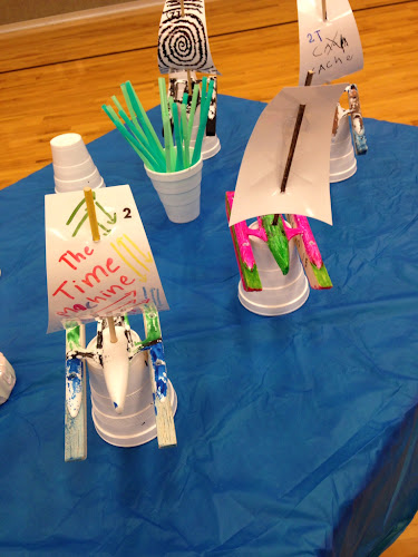 Rain gutter regatta pirate theme