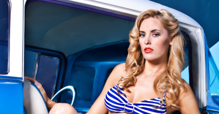 www.chadhillphoto.com: Vintage Pin up Photo shoot