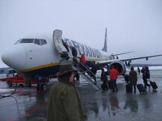 Ryanair Ruuma Laukku : Espanja