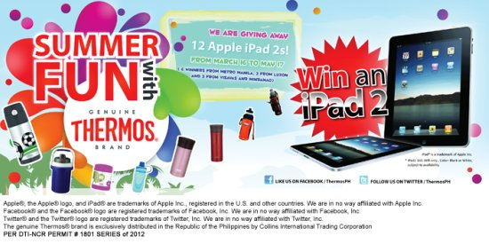 promos, announcement, products, Thermos Philippines,Summer Fun With Thermos promo