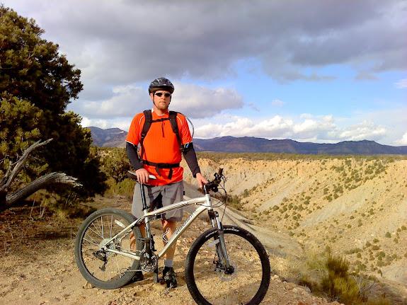 Me on Cove Rim Trail