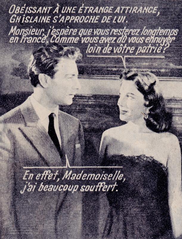 Roman-photos vintage : En effet, Mademoiselle, j'ai beaucoup souffert. - Pour vous Madame, pour vous Monsieur, des publicités, illustrations et rédactionnels choisis avec amour dans des publications des années 50, 60 et 70. Popcards Factory vous offre des divertissements de qualité. Vous pouvez également nous retrouver sur www.popcards.fr et www.filmfix.fr