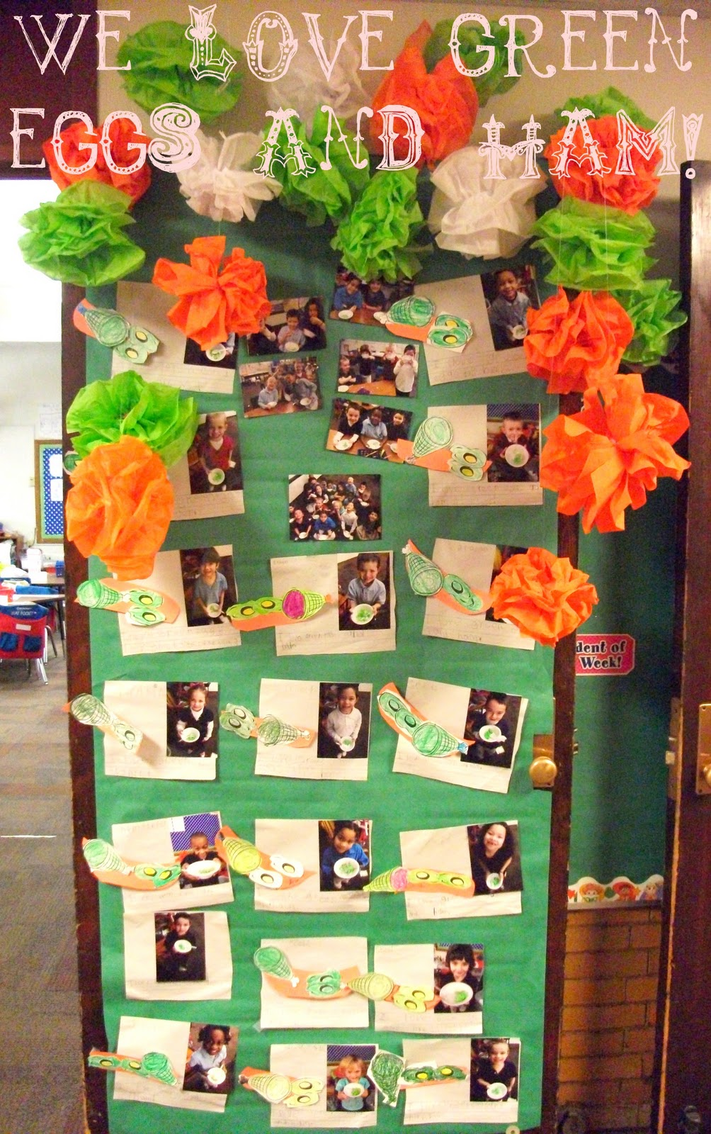We Also Had A Door Contest On The K 2 Hall Kids Picked Their Favorite Dr Seuss Book And Then Made Decorations To Go It