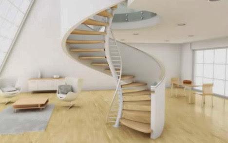 Sắp xếp cầu thang phong thủy giữ vượng khí ngôi nhà