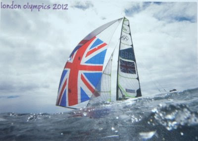 postcards, London Olympicsa 2012