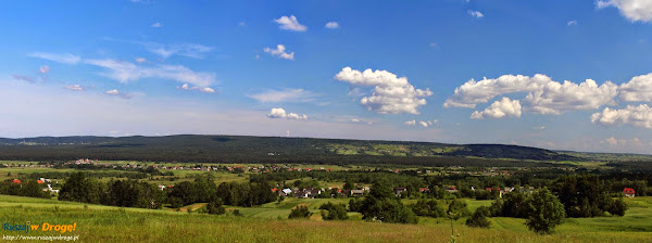 Punkt widokowy Krajno na Pasmo Masłowskie