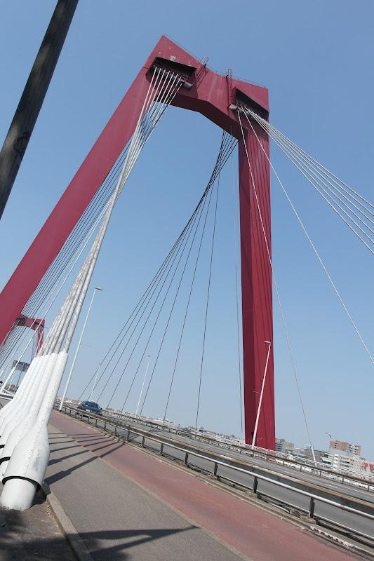 Rotterdam ponte rosso