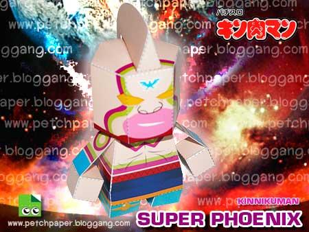 Kinnikuman Super Phoenix Papercraft