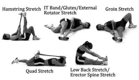 下背疼疼的伸展