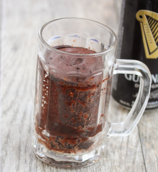 Guinness Stout Chocolate Mug Cake