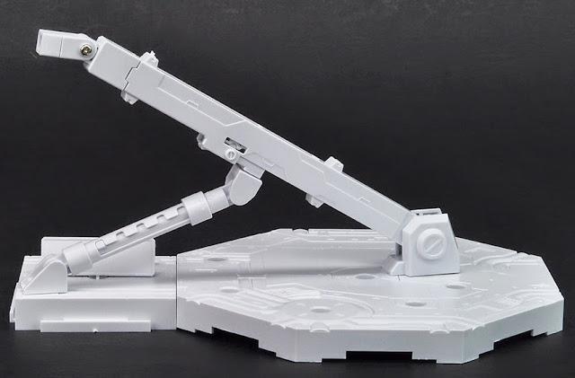Giá đỡ mô hình Gundam hình lục giác Action Base 1 màu trắng có thể điều chỉnh theo các hướng