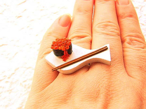 Sushi Japanese Food Ring