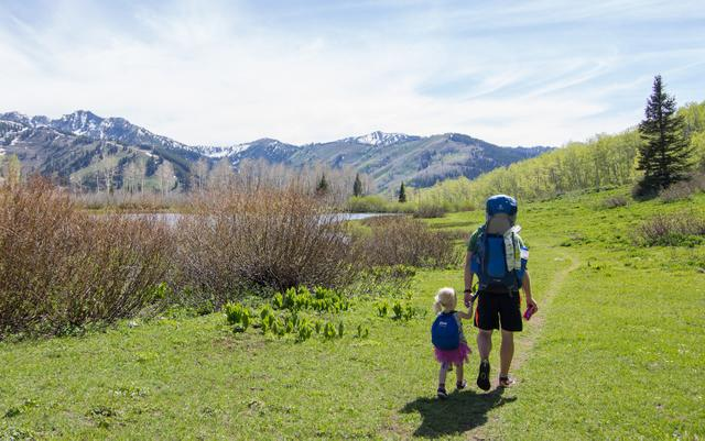 Backpacking & Camping With Kids